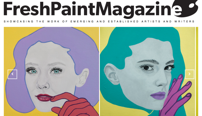 Studio Visit with Charleston, SC artist Chambers Austelle and Fresh Paint Magazine