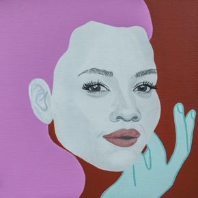"Charleston Supported Art Spring 2015, ""Jen"" by artist Chambers Austelle"